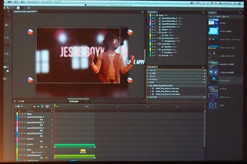 Edge Animate CCというアプリではHTML5で動画の組込ができる・・知ってましたか?
