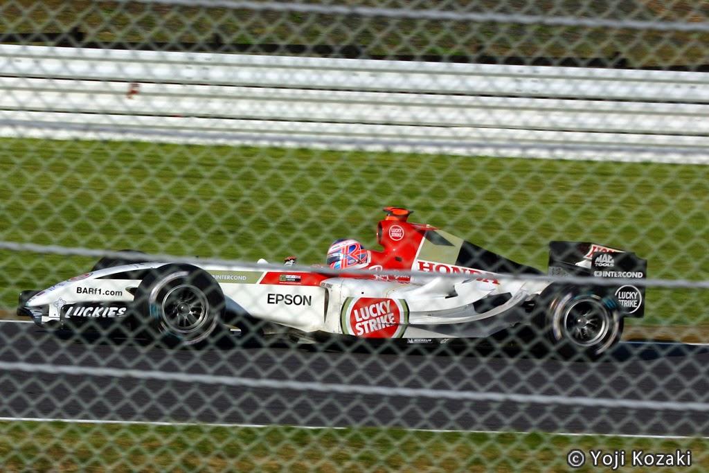 F1日本グランプリ2004年 BARホンダ ジェンソンバトン