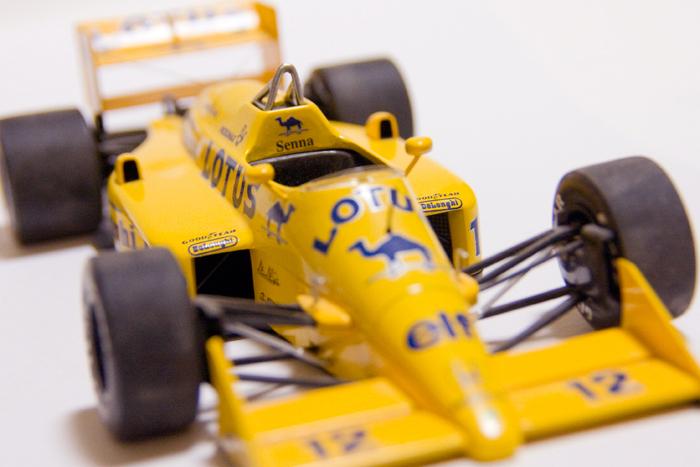 F1 ロータスホンダ99T 1987年 アイルトンセナ